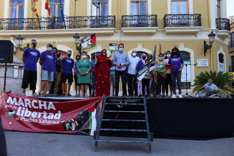 El pueblo de Cheste implicado históricamente con la causa saharaui