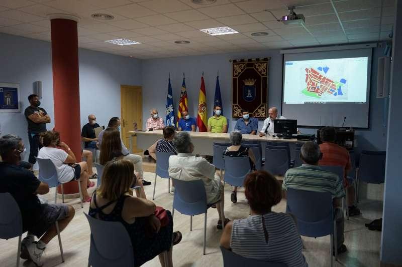 Estudio del Plan en Torrechiva. Foto:Archivo