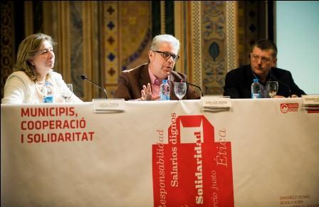 Juan José Medina en la inauguración de la jornada ?Municipios, cooperación y solidaridad?, organizada por la Diputación y la Coordinadora Valenciana de ONGD (CVONGD).