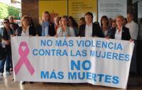 La diputada provincial junto con otras autoridades de la Generalitat y de Delegación de Gobierno de la Comunidad Valenciana.