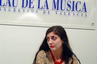 Espido Freire. Foto palaudevalencia.com
