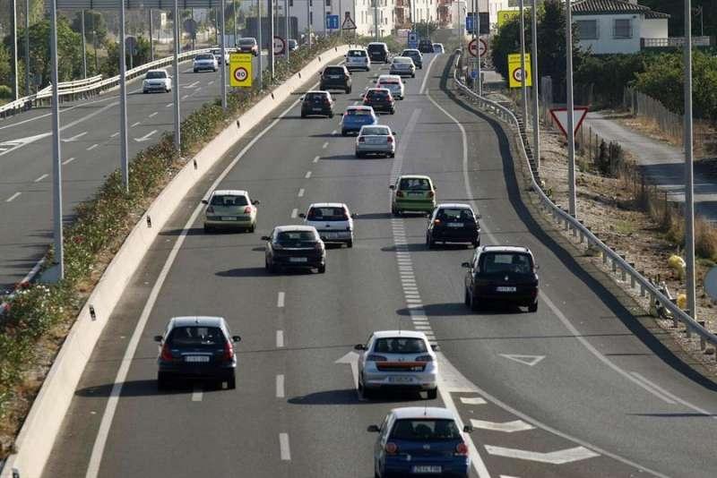 Imagen de archivo de la autovía en Alicante. EFE