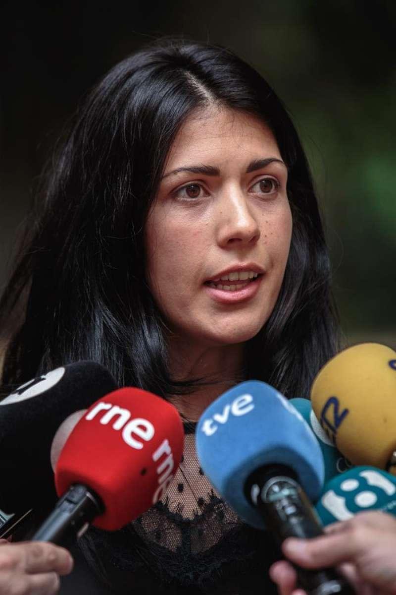 La diputada de Unides Podem, Naiara Davó. EFE/Archivo