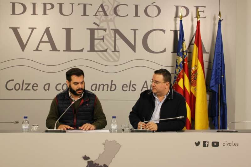 Los diputados Modesto Martínez y Miguel Bailach. EPDA