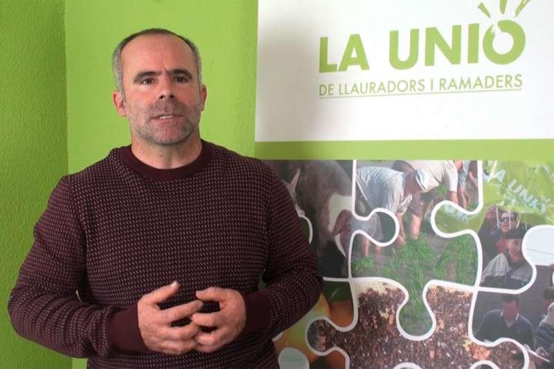 Carles Peris, secretario general de La Unió.- EPDA