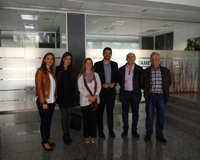 Juan José Zaplana y Elisa Díaz han mantenido una reunión de trabajo con el Grupo Municipal del PP de Llíria