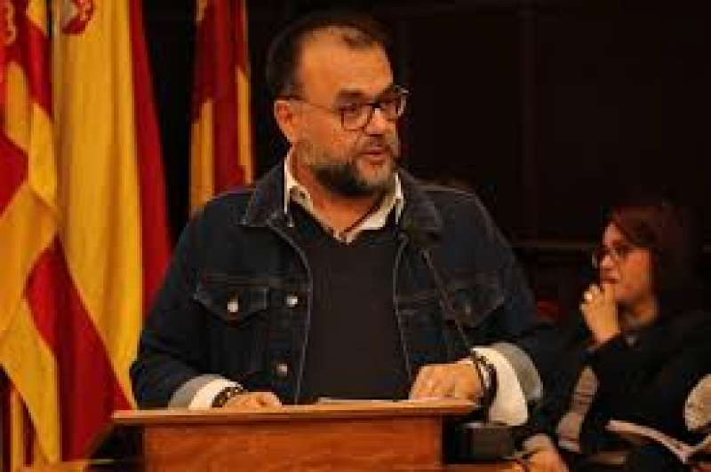 Juan Guillén en un pleno municipal. EPDA