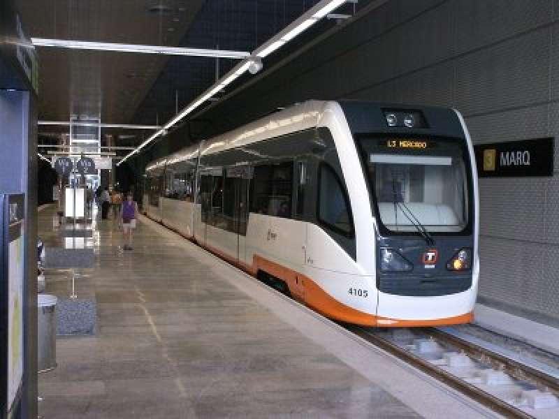Red del TRAM de Alicante. EPDA