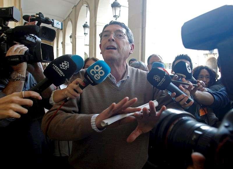 Juan Cano, sucesor del alcalde de Polop (Alicante) muerto a tiros en 2007, Alejandro Ponsoda. EFE