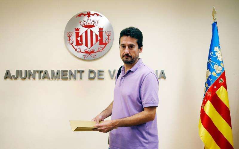 El exconcejal de València en Comú Jordi Peris
