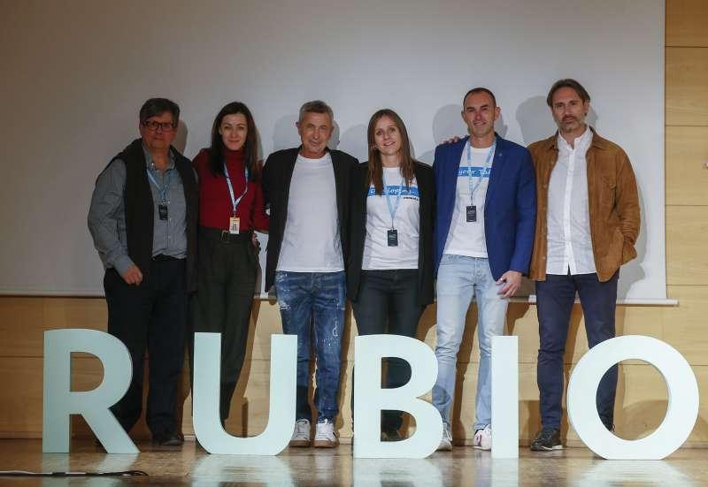 Los colaboradores de la  4ª Jornada Pedagógica RUBIO. -EPDA
