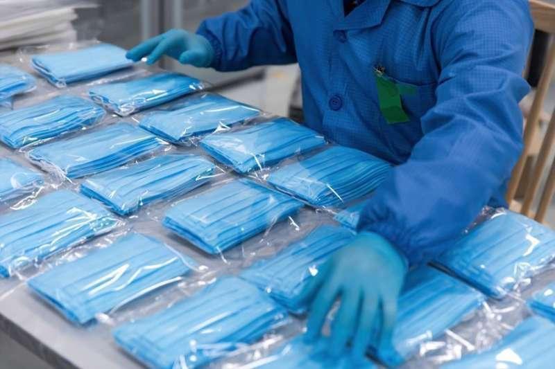 Producción de mascarillas. EPDA