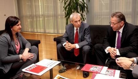 Català se reúne con el embajador suizo en España para intercambiar experiencias en materia de FP Dual.