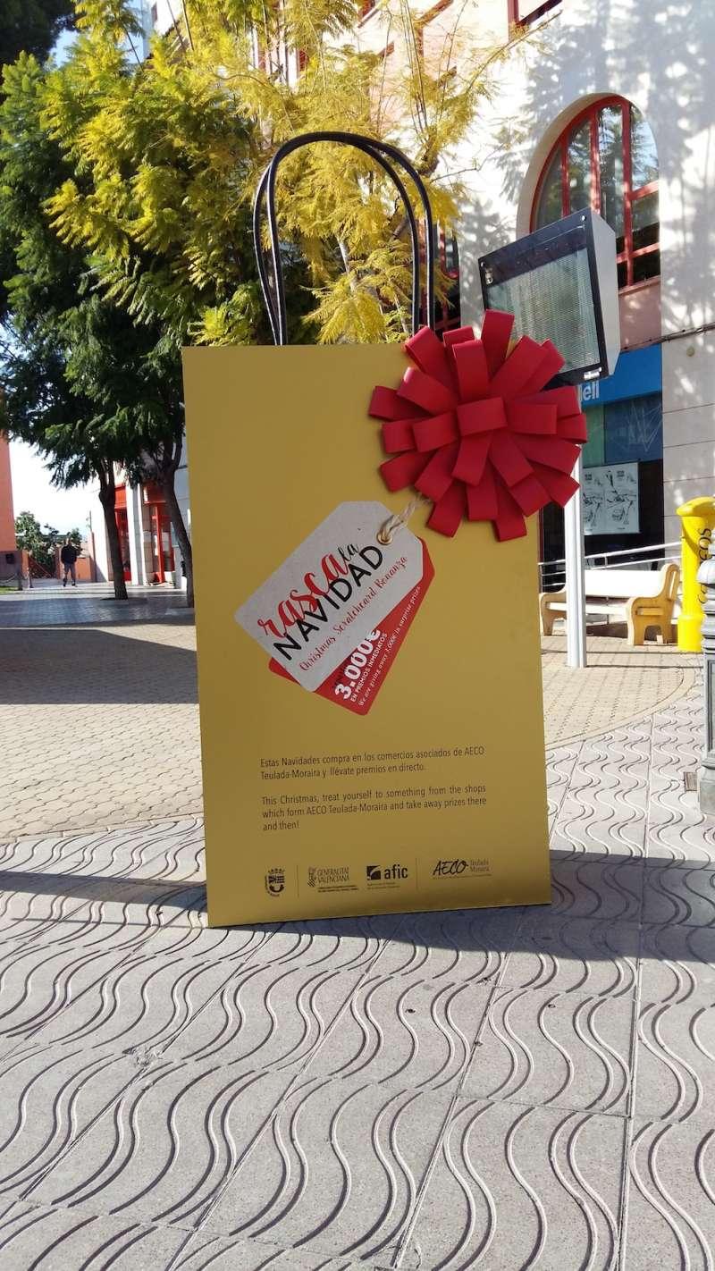 Detalle de las bolsas de esta campaña que acoge Teulada hasta el 5 de enero