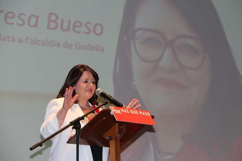 Teresa Bueso presentó su candidatura en el Capitolio
