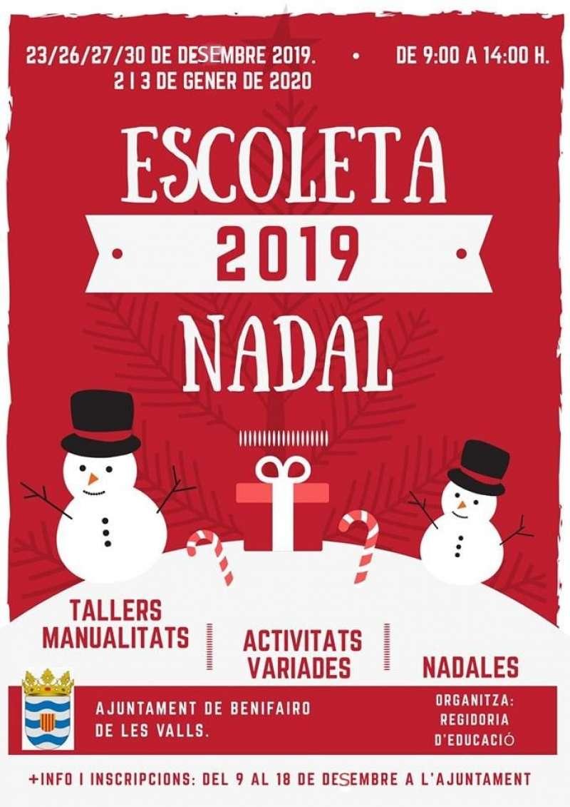 Escoleta de Nadal de Benifairó 2019. EPDA