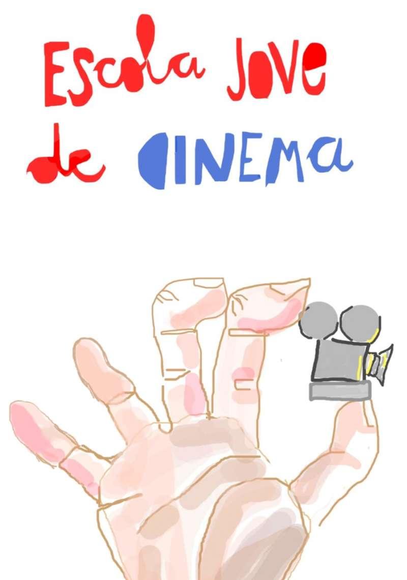 Logo de la Escola Jove de Cinema. EPDA