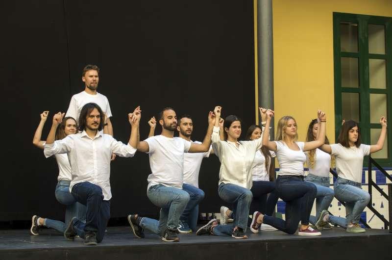 Obra teatral Càrcer./EPDA