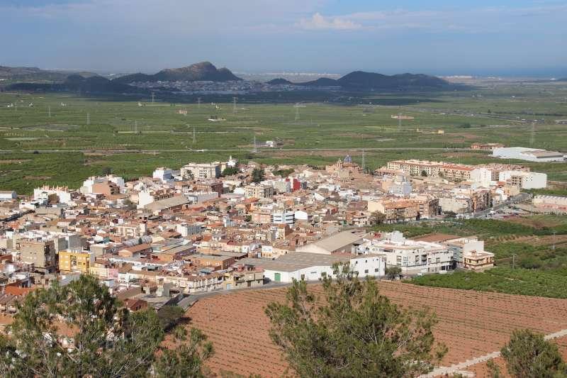 Vista del terme municipal de Faura. EPDA