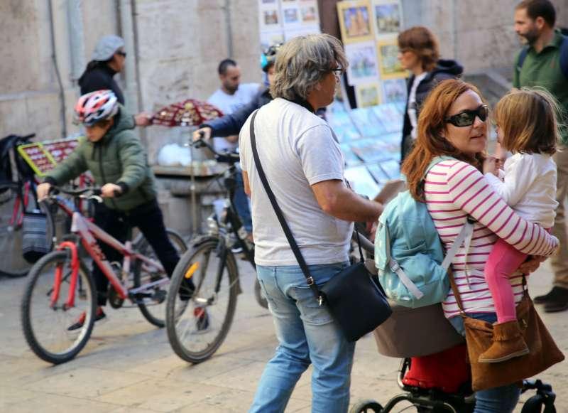Turistas en València. EPDA