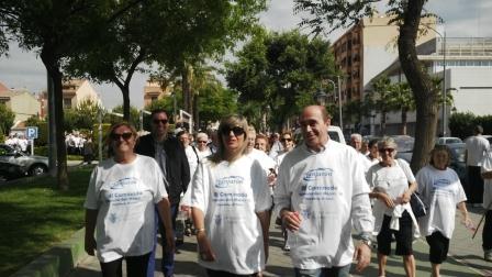 La consellera de Bienestar Social junto con el alcalde y la concejal de Xirivella.