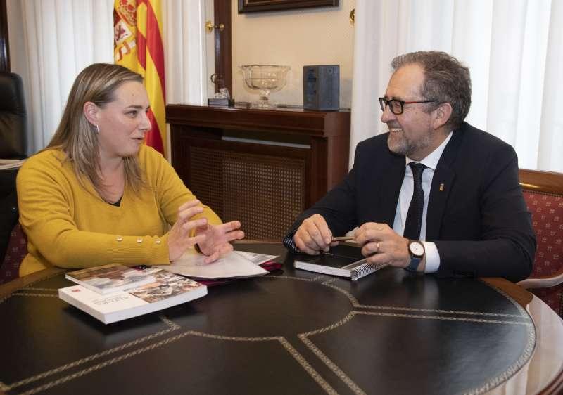 Martí recibe a la alcaldesa de Altura