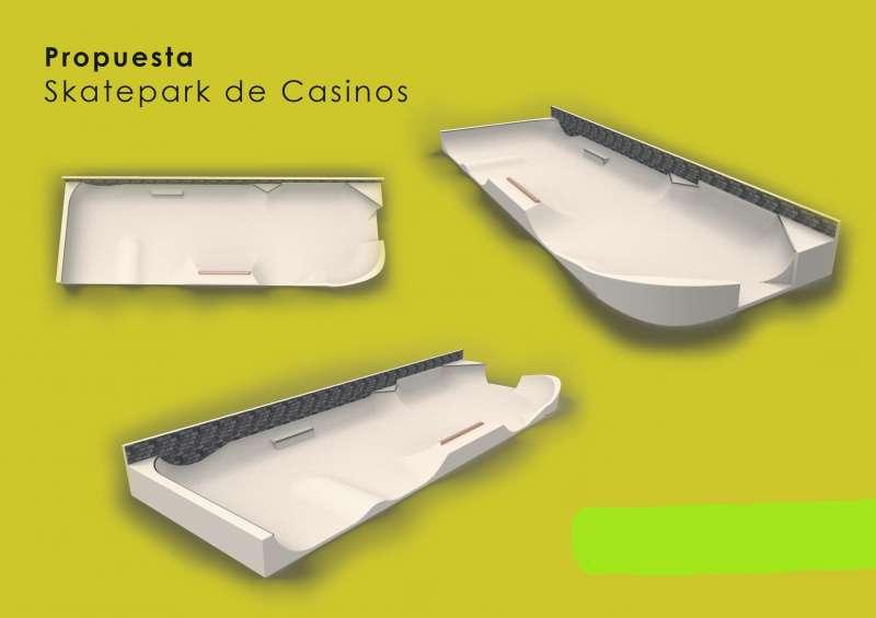 Pista de Skate de Casinos