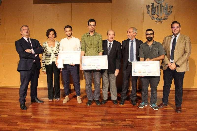Ganadores del concurso Ideas + Innovadoras de Florida Universitària de Catarroja. EPDA