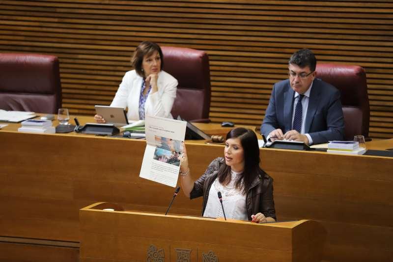 La síndica de Ciudadanos (Cs) en Les Corts valencianas, Mari Carmen Sánchez.