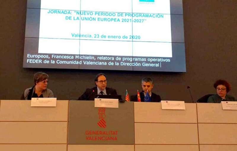 Jornada nuevo periodo de programación de la UE 2021-2027. EPDA