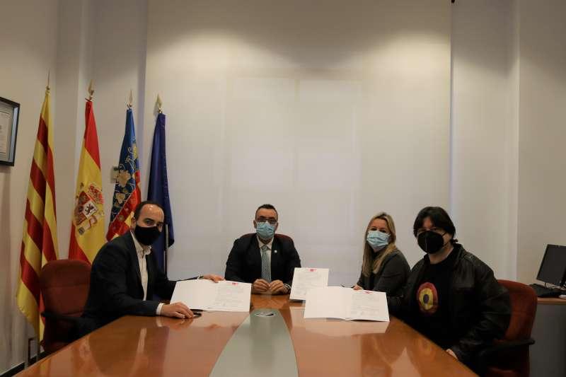 Firma del pacto/EPDA