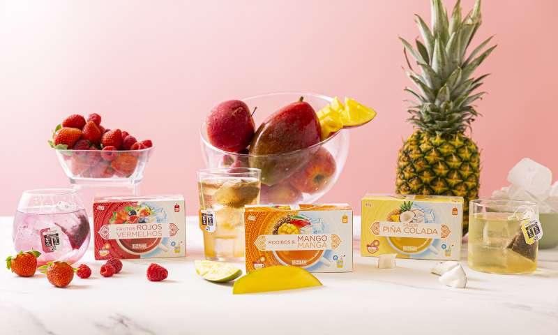Las Infusiones Frías de Piña Colada, Frutos Rojos y Rooibos & Mango, disponibles en Mercadona.
