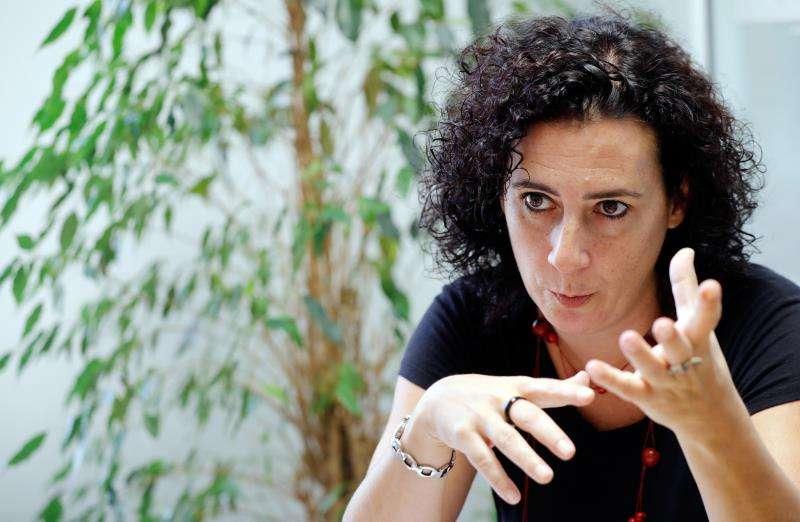La Concejala de Participación Ciudadana en la entrevista a EFE