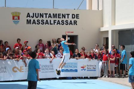 En Massalfassar disponen de un gran complejo donde se pueden jugar muchas partidas y modalidades al mismo tiempo. Foto: EPDA.
