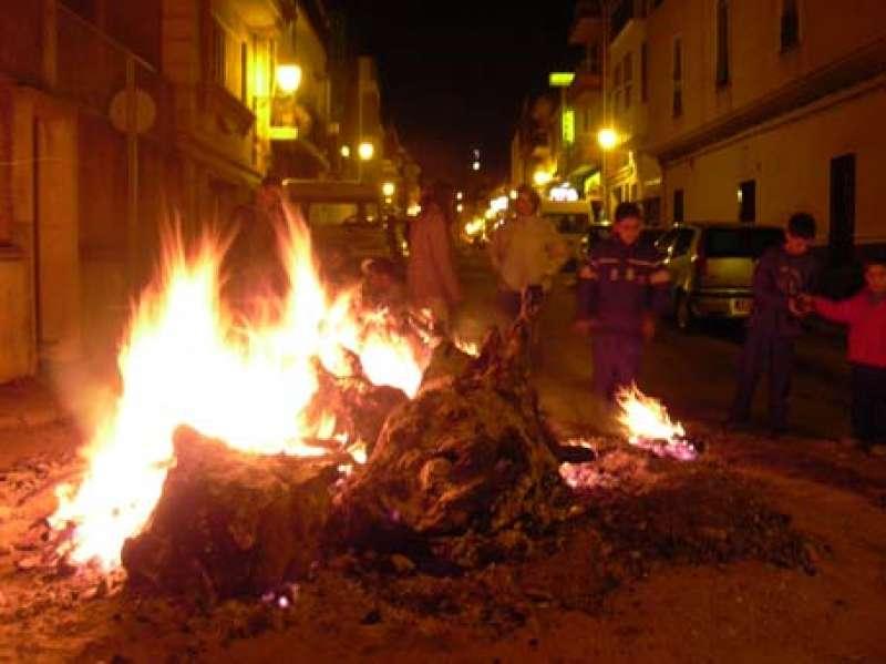 Celebración Hoguera de San Antón