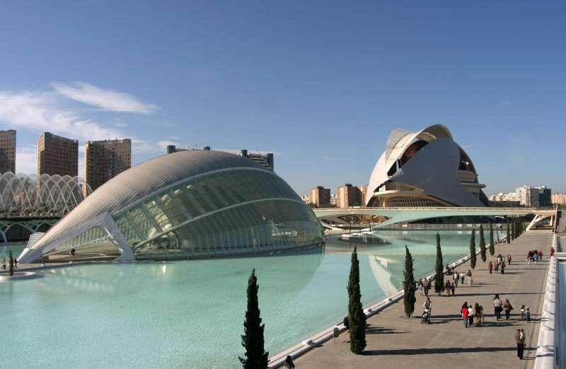 La Ciutat de les Arts i les Ciències de Valencia