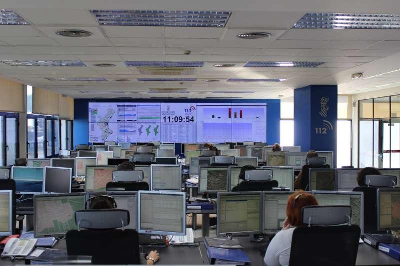 Central del teléfono de Emergencias