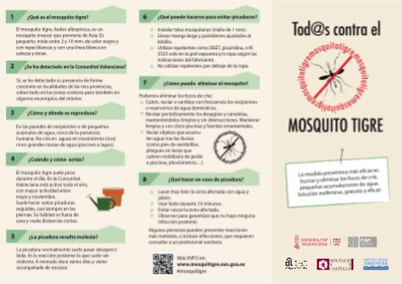 Tríptico sobre el mosquito tigre