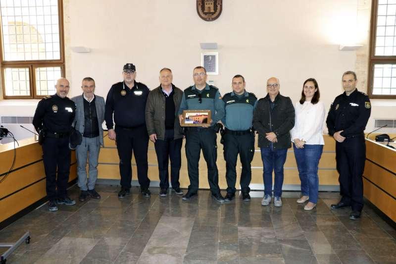 Reconocimiento Guardia Civil en Llíria./epda