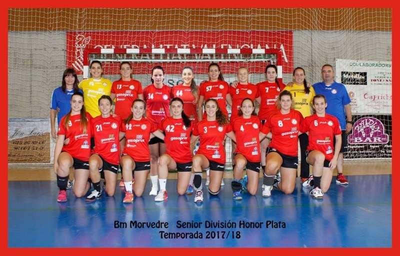 El equipo Senior A.