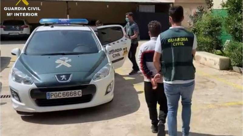 Momento de la detención/EPDA