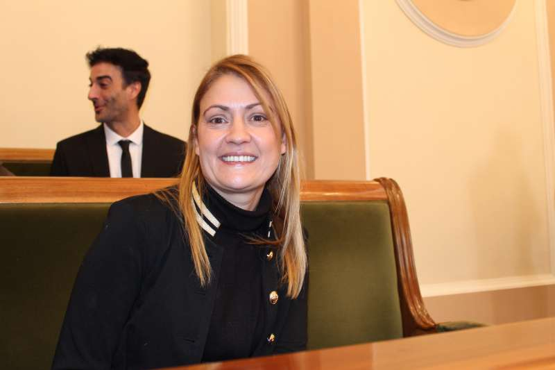 La concejal de Ciudadanos (Cs) en el Ayuntamiento de Castellón,Paula Archelós. -EPDA