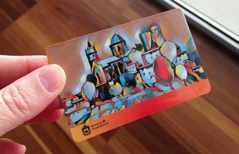 Imagen de la nueva tarjeta ciudadana. EPDA