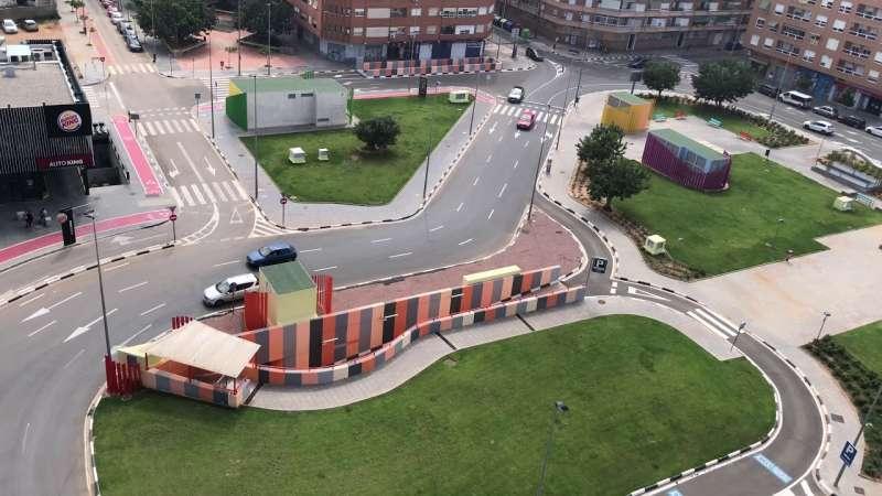 Avenida Juan Carlos I de Torrent. EPDA