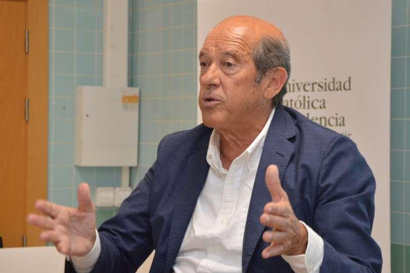 El ex presidente del Valencia Cf, Manuel Llorente. EPDA