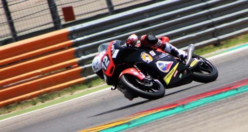 Piloto de Moto3 Filip Salac. EPDA