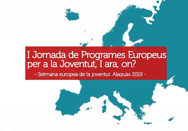 Cartell de la Setmana Europea de la Joventud
