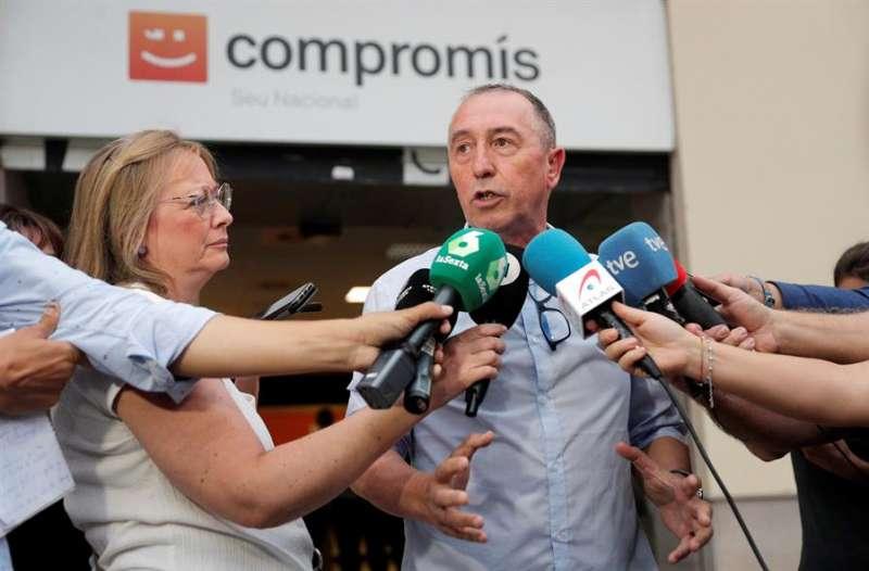 El diputado de Compromís en el Congreso, Joan Baldoví, en una imagen reciente. EFE/Kai Försterling