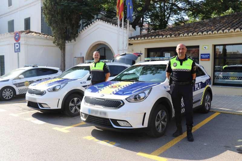 Nuevos vehículos de la Policía Local de Torrent