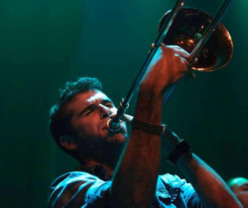 Ricky Lucchese durante una actuación. EFE/Ricky Lucchese